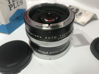 AUTO TELEPLUS VARIABLE CONVERTER 2x-3x - CANON FD ETC CAMERA FIT