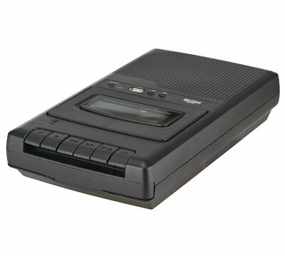 Bush Cassette Player and Recorder - Black - Free 90 Day Guarantee