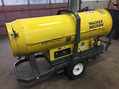 2011 Wacker Neuson  HI400 HD G 380,00 BTU indirect heater Natural gas/ Propane