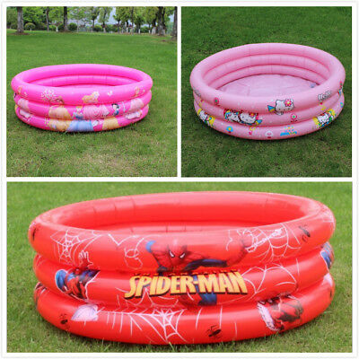 Kids Swimming Paddling Pool Children Water Activity Inflatable Fun Play-90cm
