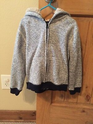 Toddler Boys Crazy 8 By Gymboree Zip Up Hoodie Sweater Size 5T