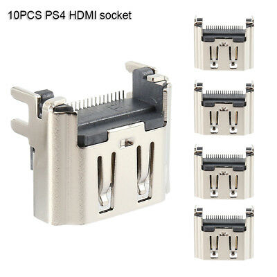 10Pcs HDMI Port Display Socket Jack Connector For Sony PlayStation 4 PS4