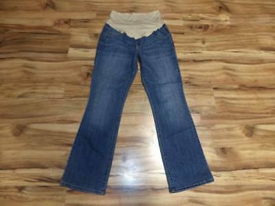 womans misses size 14L 14 long tall Old Navy jeans Maternity pants boot cut
