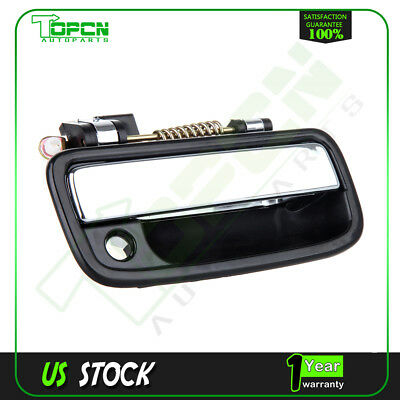 Black Outside Door Handle Front Right Passenger Side For 95-04 Toyota Tacoma