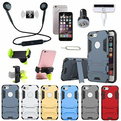 Case Holder Charger Wireless Headset Accessory For iPhone X SE 5 6 7 8 S Plus