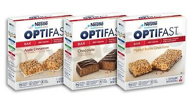 OPTIFAST® 800 BARS | 4 BOXES | ANY FLAVOR or VARIETY CHOICES | BRAND NEW & FRESH