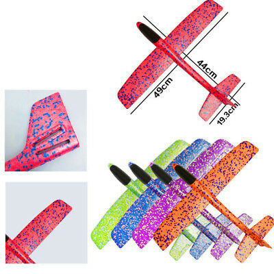 49*44cm EPP Foam Hand Throw Airplane Outdoor Launch Glider Plane Kids Toy GiftYR