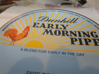 Rare, SEALED DUNHILL EARLY MORNING  COLLECTIBLE Pipe Tobacco Tin  50 Grams