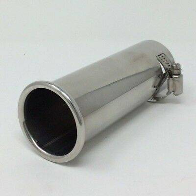 Stainless Steel Rolled Tip Exhaust 36mm - 45 mm Top Quality Exhaust Tip