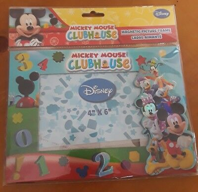 Disney Mickey Mouse Clubhouse Magnetic Picture Frame 4 In X 6 In