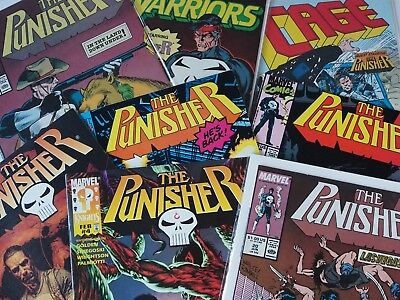 10 Mixed Punisher Comic Books | Marvel Comics | Job lot collection | Grab Bags