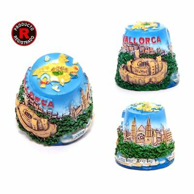 MALLORCA cathedral embossed Souvenir Travel Sewing thimble spain collection gift