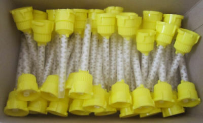 Dental HP Impression Mixing Tips yellow 4.2 mm 1:1 Ratio