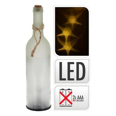 Botella Decorativa Led 29Cm Pilas No Incluidas