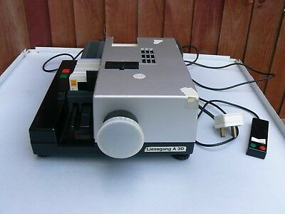 Vintage Liesegang Automat Slide Projector A30 Germany