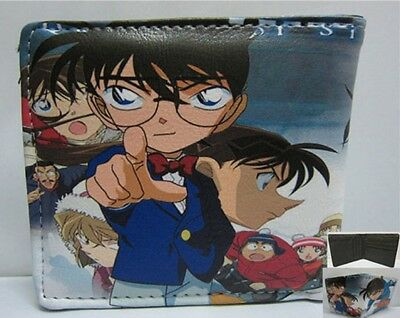 Anime Case Closed Detective Conan Wallet 3 USA SELLER!!! FAST SHIPPING!