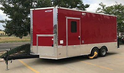 """1 Year Food """"Freedom Trailer"""" (18'x8') in Pristine Condition"""