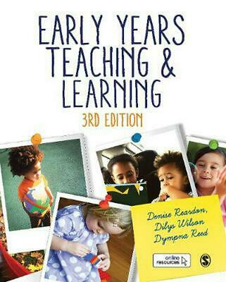 Early Years Teaching and Learning by Denise Reardon Paperback Book Free Shipping