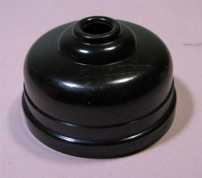 Vintage Art Deco Brown Bakelite CEILING LIGHT Mount / Batten  SirH70