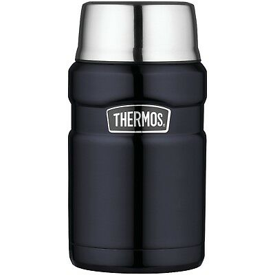 Thermos Stainless King Durable 24 Ounce Food Jar Compact, Midnight Blue Quality