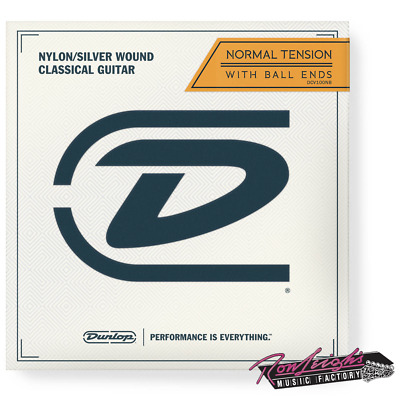 Jim Dunlop Nylon Classical Guitar Strings with Ball End in Normal Tension