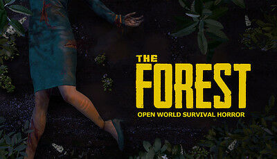 The Forest Steam Game (PC) --- EUROPE ONLY - (no CD/DVD)