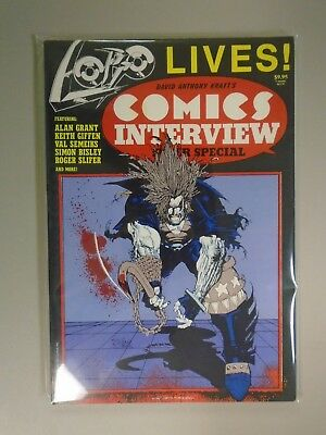 David Anthony Kraft's Comics interview Super Special Lobo Lives SC-TPB, 8.0/VF