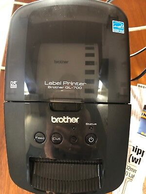 Genuine Brother QL-700 Professional Thermal Label Printer Auto Cutter Sealed