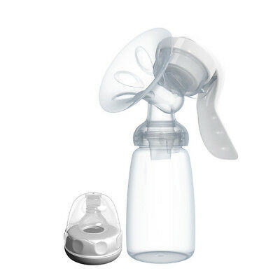 REAL BUBEE PP Manual Breast Pump with Baby Milk Bottle