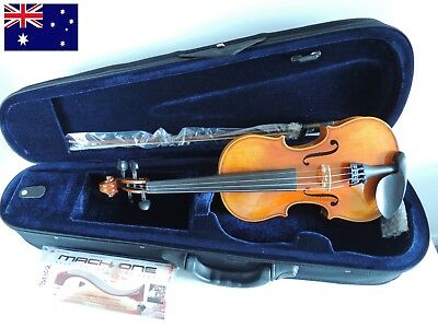 Violin 1/2 SET Chain rest Case Bow Brand NEW Student Size Professional Set Up