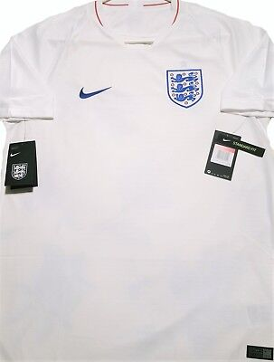 7bc7cf5fbf0 OFFICIAL Nike England 2018 19 Home Football Jersey LARGE Size NEW with Tags  ☑