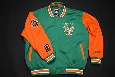 New York Mets Bomber Jacke College Jacket Cooperstown G 3 Banks Baseball MLB XL