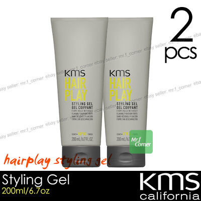 KMS California HAIR PLAY Styling Gel Get Coiffant Firm Hold 200ml 6.7oz 2pcs