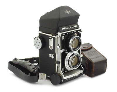 Mamiya C220 Professional TLR Camera #B56942 w/ Sekor 80 mm
