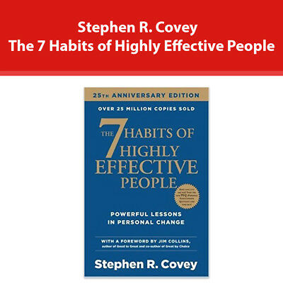 The 7 Habits of Highly Effective People by Stephen R. Covey [Paperback] Book NEW