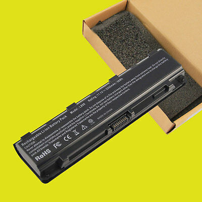 New Battery for Toshiba PA5109U-1BRS Primary 6-Cell Li-Ion Battery Pack 5200mAh