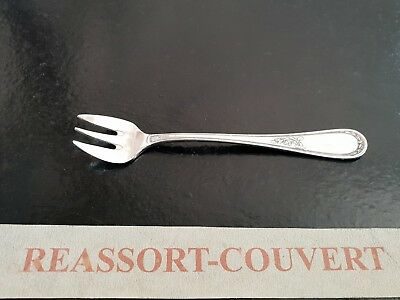Fork Salad Service Christofle America 24 Cm Correct Condition Silvered Metal Be Novel In Design Other Antiques