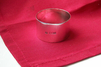 Nice Heavy Antique Solid Silver Napkin Ring, Sheffield 1902.by Atkin Brothers.