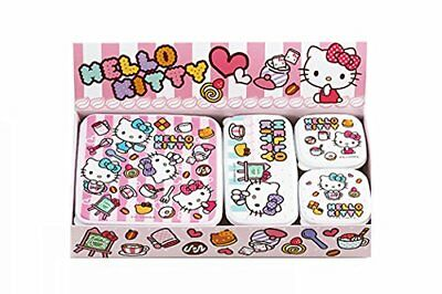 New Tamahashi HELLO KITTY Cafe Love sealed container 4pc set B KT-106