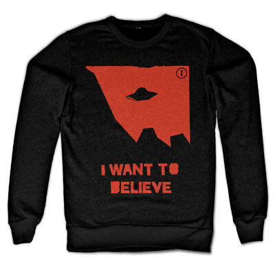 Officially Licensed The X-Files I Wan/'t Believe Baseball 3//4 Sleeve Tee S-XXL
