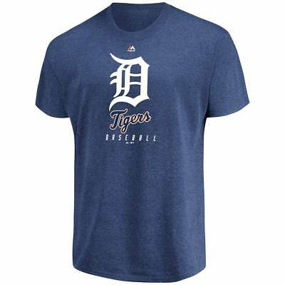 Majestic Detroit Tigers Fundamentals MLB T-Shirt Navy