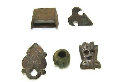 Lot Of Important Ancient Roman Military Equipment Applique Decorations.   P25
