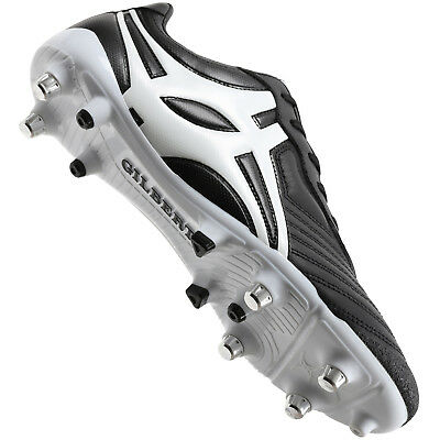 Clearance Line New Gilbert Rugby Sprint Rugby Boots Black 6 Stud Size 11.5