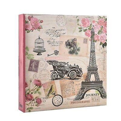 "Large Ring Binder Slip In Photo Album holds 500 6×4"" / 10×15 cm photos x 1"