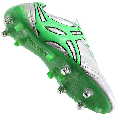 Clearance Line New Gilbert Rugby Jink Pro Chrome Rugby Boots Size 10.5