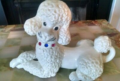Large Poodle Figurine Dog Statue