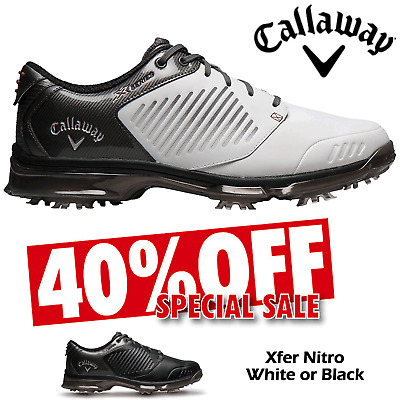Callaway Golf Shoes Xfer Nitro Mens Waterproof Golf Shoes New ** 40% Sale **