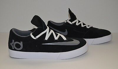 4f6264f14e19 NIKE KD VULC - Youth Size 7 - Black White Gray -  39.99