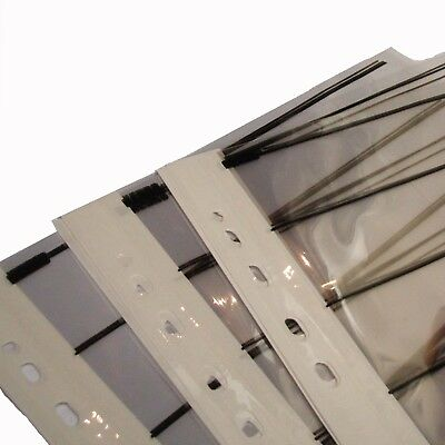 Kenro 35mm Negative Strip Sleeve 25x CLEAR ACETATE Storage Pages