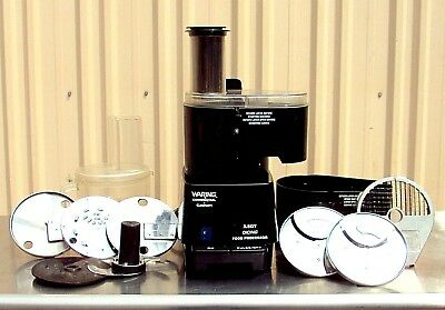 Waring Commercial FP1000 Dicing Batch Bowl and Continuous Food Processor, 2-1/2-